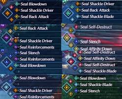 Xenoblade Chronicles 2 Affinity Chart Xenoblade Chronicles 2 Blade Combos 2