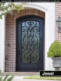 metal front doorsSplendid Wrought Iron Front Doors Ideas Creative Curtain Fresh In