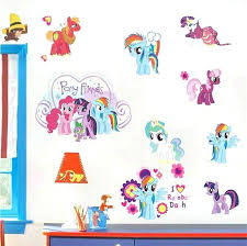 my little pony wall decals full size of little pony vinyl wall stickers with my little