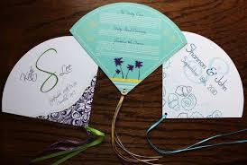 Wedding Program Designs Custom Wedding Program Fans Emdotzee Designs