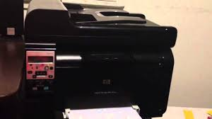 Hp Laserjet 100 Color Mfp M175nw Review Youtube