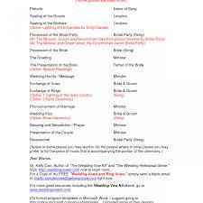 wedding reception program templates free download sample wedding reception program format christian templates wording