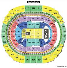 Staples Center Seating Chart Concert Best Picture Of Chart