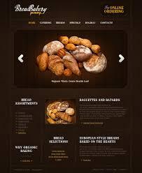 Bakery Website Template 29876