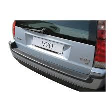 Abs Achterbumper Beschermlijst Volvo V70 2001 2007 Voor Gespoten Bumpers Zwart