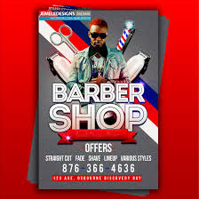 barber flyer barber shop flyer by jemeleiizboss on deviantart