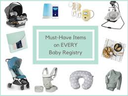 Baby Stuff Checklist 50 Must Haves To Put On Your Baby Registry List 5 Things