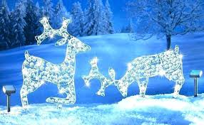 reindeer yard decorations wooden reindeer yard decorations reindeer lighted yard displays lawn deer ornaments acrylic led