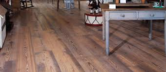 Clear or Unfinished Reclaimed Heart Pine Flooring Original