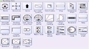 floor plan symbols stairs. Floor Plan Symbols Free Stairs Bathroom F Kitchen For Silhouette Conversion Chart Flooring Vinyl