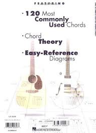 New Hal Leonard Corp Book The Ultimate Guitar Chord Chart