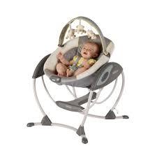 Amazon.com : Graco Glider LX Gliding Swing, Peyton : Stationary Baby ...