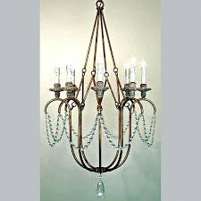 iron and crystal chandelier c iron crystal chandelier 19th c rococo iron crystal chandelier medium