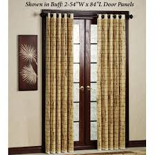 sliding glass door curtains 40 bamboo door panel 54 x 84 palm springs remodel