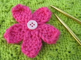 Knitted Flower Pattern Adorable Knitting New Patterns How To Knit A Flower Thefashiontamer