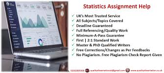 statistics assignment help pass assured professional writers statistic assignment help