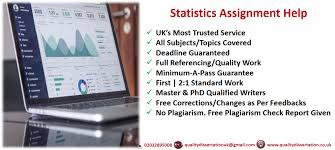 statistics assignment help pass assured professional writers statistic assignment help