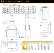 burntech fireplace specifications