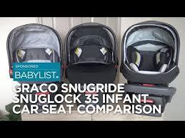 Graco Snugride Snuglock 35 Infant Car Seat Comparison 35 Vs