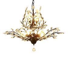 antique crystal chandelier living room 7 lights lamp in black vintage