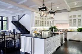 Dark Kitchen Floors White Kitchen Cabinets With Dark Floors