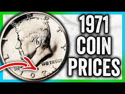1971 Half Dollar Coin Values Kennedy Coins To Look For