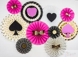 Paper Rosette Flower Kate Spade Inspired Pinwheel Backdrop Paper Rosette Birthday