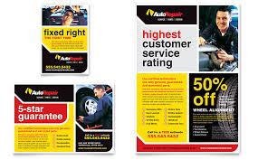 The Flyer Ads Auto Repair Flyer Ad Template Word Publisher
