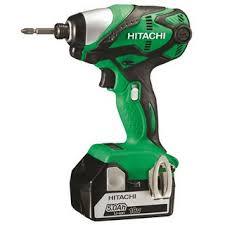 hitachi wh18dgl. hitachi wh18dsdl/jj 18v impact driver 2x 5.0ah li-ion batteries hitachi wh18dgl v