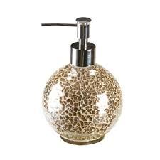 gold crackle bathroom accessories. gold crackle mosaic glass lotion dispenser bathroom accessories r