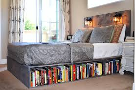 Queen Metal Bed Frame On King Size Bed Frame And New Bookcase Bed ...