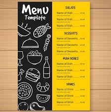 Food Menu Design Ideas Fast Food Menu Card Foodie Menucard Menu Card Design