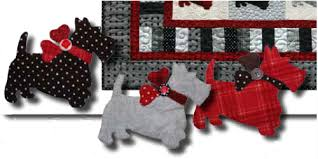 Scottie Dog Quilt With Cute Puffy Dogs – Quilting Cubby & scottie dog template with quilt pattern Adamdwight.com