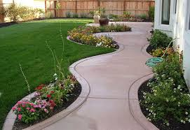 Small Picture Gallery Of Simple Landscaping Ideas On A Budget The Garden Designs