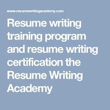Online Resume Writing Course for Mid Career Professionals