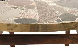 stone coffee table innovative stone coffee table coffee table round stone coffee home design dwell coffee