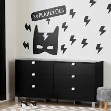 south s dreamit black superheroes wall decals