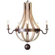 wood kitchen island chandelier pendant lighting wood wine barrel