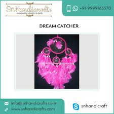 Purchase Dream Catchers Fascinating Pink Color Decorative Fancy Dream Catcher For Bulk Purchase Buy