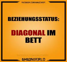 Beziehungsstatus Diagonal Im Bett Amazinworld