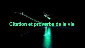 Citation Et Proverbe De La Vie Intro