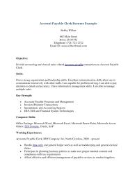 Medical Records Samples File Clerk Resume Skills Medical Clerk