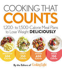 Cooking That Counts 1 200 To 1 500 Calorie Meal Plans To