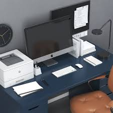 ikea office workplace with alex table