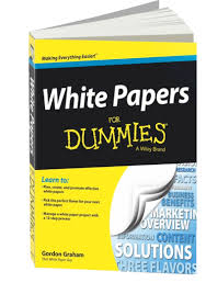 that white paper guy s list of recommended books on writing white  copy of the book white papers for dummies