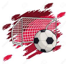 Soccer Graphic Design Soccer Sport Game Equipment Cartoons Vector Illustration Graphic