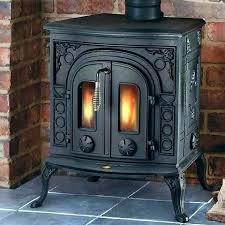 antique cast iron fireplace insert vintage gas