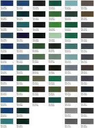 Absolute Powder Coating, Llc. - Color Charts