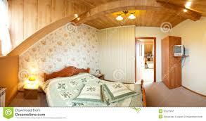 Hotelschlafzimmerpanorama Stockfoto Bild Von Raum Elegant 20222932