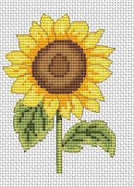 Sunflowers Are Perfect For Summer Cross Stitch Designs